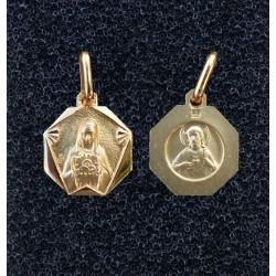 Médailles hexagonales