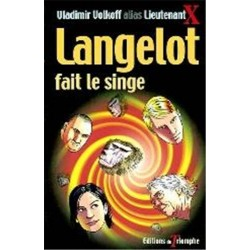 Langelot 21  Langelot fait le singe