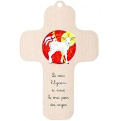 Croix Agneau de Dieu en...