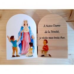 Diptyque en bois Notre Dame...
