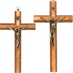 Crucifix en bois d'olivier...