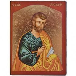 Icône Saint Joseph grand...