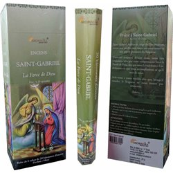 Bâtonnets d'encens Aromatika saint Gabriel 100% Naturel.