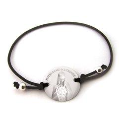Bracelet Notre-Dame de la Trinité noir