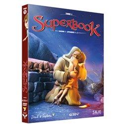 Superbook Tome 1 - Saison 1 - Episodes 1 à 3 - DVD