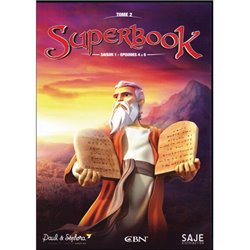 Superbook Tome 2 - Saison 1 - Episode 4 à 6 - DVD