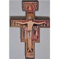 Croix de Saint François d'Assise 18x22 cm