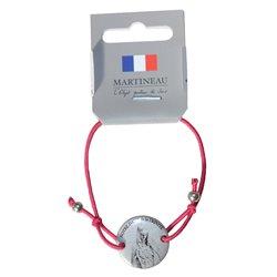 Bracelet Notre-Dame de la Trinité fushia