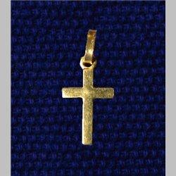Croix 14mm dorée